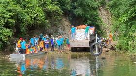 Lũ lụt đang làm cho 204 hộ đồng bào Rục với 800 khẩu gặp nhiều khó khăn