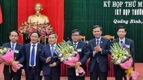 Quảng Bình bầu 3 Phó Chủ tịch UBND tỉnh