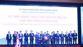 Trao giấy chứng nhận đăng ký đầu tư cho 15 dự án