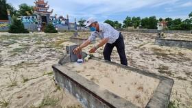 Mộ của danh tướng Nguyễn Phạm Tuân
