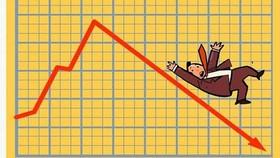 Phiên lao dốc kinh hoàng của VN Index: Mất hơn 56 điểm
