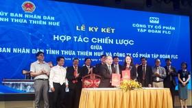Tỉnh Thừa Thiên – Huế ký kết hợp tác chiến lược với Tập đoàn FLC
