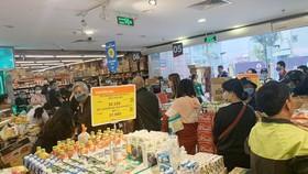 VinMart và VinMart+ khuyến nghị khách hàng hợp tác với nhân viên siêu thị để đo thân nhiệt; đeo khẩu trang trong suốt 100% thời gian mua sắm tại siêu thị và cửa hàng...