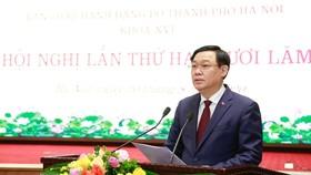 Hà Nội sẽ tận dụng tiến bộ của khoa học, công nghệ để phát triển đột phá