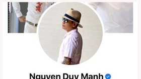 Ca sĩ Duy Mạnh bị phạt 7,5 triệu đồng vì phát ngôn không phù hợp