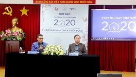 Họp báo thông tin về Cotton Day Vietnam 2020
