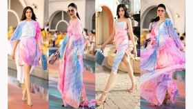 Dàn hoa hậu, á hậu bay bổng catwalk tại Fashion Voyage