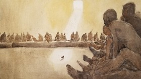 Côn Đảo thiêng liêng, sống động trong tranh màu nước
