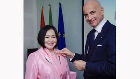 Bà Trang Lê trở thành Đại sứ Ẩm thực Italia tại Việt Nam 2021