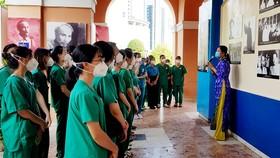 Đoàn y bác sĩ BV Bạch Mai, Trường CĐ Y tế Bạch Mai tham quan Bảo tàng Hồ Chí Minh - Chi nhánh TPHCM