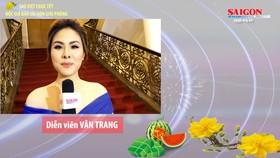 Sao Việt chúc tết độc giả Báo Sài Gòn Giải Phóng