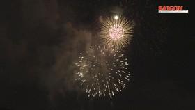 Tòa nhà Landmark trở thành điểm bắn pháo hoa mới của TPHCM dịp lễ 30-4