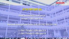 Hệ thống thông tin hỗ trợ trong kỳ thi THPT quốc gia 2019