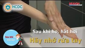 Phòng dịch Covid-19: Phải rửa tay thường xuyên