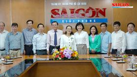 Chủ tịch HĐND TPHCM Nguyễn Thị Lệ thăm Báo Sài Gòn Giải Phóng