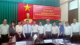 Long An tổ chức lễ tổng kết chương trình hợp tác thông tin