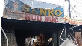 Cháy chợ tại Kiên Giang, 3 người chết