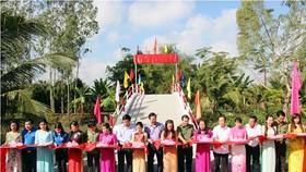Khánh thành cầu ở xã Thới Hưng ngày 4-3