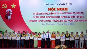 Cần Thơ khen thưởng cho tập thể, cá nhân xuất sắc trong học tập và làm theo tư tưởng, đạo đức, phong cách Hồ Chí Minh; giai đoạn năm 2016- 2019