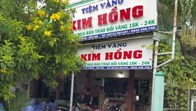 Dùng búa cướp tiệm vàng ở Long An