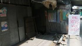 Khẩn cấp di dời 14 hộ dân khỏi khu vực nguy cơ sạt lở ở An Giang