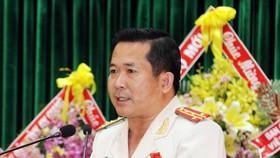 Đại tá Đinh Văn Nơi tái đắc cử Bí thư Đảng ủy Công an tỉnh An Giang