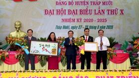Tháp Mười được công nhận đạt chuẩn huyện nông thôn mới