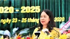 Đồng chí Võ Thị Ánh Xuân tái đắc cử Bí thư Tỉnh ủy An Giang