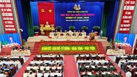 Khai mạc Đại hội đại biểu Đảng bộ tỉnh Long An lần thứ XI
