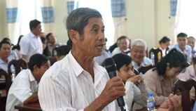 Đồng chí Trần Thanh Mẫn tiếp xúc cử tri TP Cần Thơ