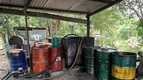 Phát hiện số lượng lớn chất thải nguy hại tại một cơ sở tái chế ở An Giang