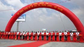 Cao tốc Trung Lương – Mỹ Thuận chính thức thông tuyến kỹ thuật