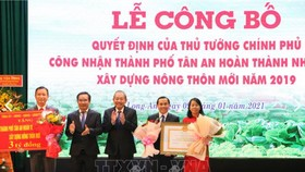 TP Tân An hoàn thành xây dựng nông thôn mới