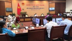 Ngày 26-3, UBND tỉnh Kiên Giang tổ chức hội nghị về phòng, chống Covid-19 trên địa bàn