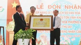 Đồng Tháp: Công nhận Khu Du lịch văn hóa Phương Nam là di tích lịch sử văn hóa cấp tỉnh