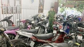 Phát hiện số lượng lớn xe mô tô không giấy tờ trong cơ sở cầm đồ ở An Giang