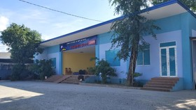 Khu vực được sử dụng làm nhà điều hành xe