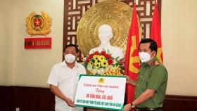 An Giang: Hỗ trợ 220 tấn gạo và rau củ cho các bếp ăn phục vụ người dân về quê