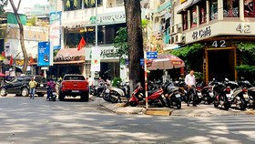 Góc đường Trần Cao Vân - Hồ Con Rùa (quận 3)