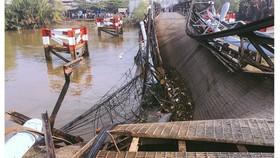 Cầu Long Kiển bị sập được khắc phục xong trước Tết Nguyên đán 2018