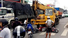 6 tháng TPHCM xảy ra 1.669 vụ tai nạn giao thông