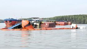 Nạo vét luồng cho tàu có mớn nước 9,5m qua khu vực chìm tàu ở Cần Giờ