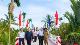 8 tỷ đồng xây dựng cầu đường nông thôn ở huyện Giồng Trôm, tỉnh Bến Tre