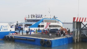 Khai trương tuyến phà biển Cần Giờ - Vũng Tàu  
