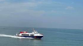 Đề xuất mở tuyến tàu cao tốc ra xã đảo Thạnh An, huyện Cần Giờ. Ảnh: QUỐC HÙNG