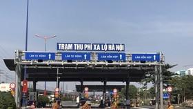 Vì sao trạm thu phí xa lộ Hà Nội thu phí trở lại?