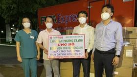 Tập đoàn Phương Trang hỗ trợ 2.117 thiết bị y tế chống dịch Covid-19