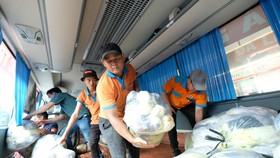 Phương Trang hỗ trợ 1.000 tấn rau củ quả cho người dân TPHCM