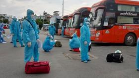 Bình Định, An Giang đón 850 người dân khó khăn về quê tránh dịch Covid-19