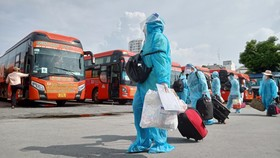 Phương Trang đón gần 30.000 người dân các tỉnh từ các vùng dịch về quê an toàn
